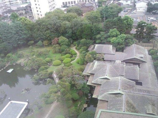 Hotel New Tagawa: 庭園