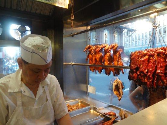 Sun Sai Gai: Hanging Ducks