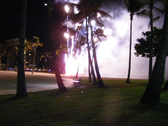‪‪Hilton Grand Vacations at Hilton Hawaiian Village‬: Friday night fireworks‬