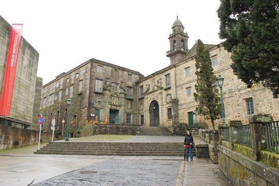 Museo do Pobo Galego: El museo por fuera