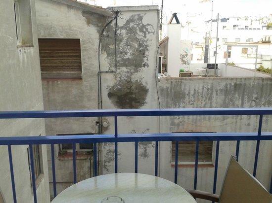 Hotel Platjador: Vista desde nuestra habitación