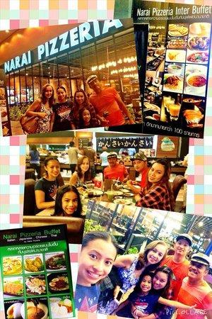 Narai Pizzeria: buffet collage