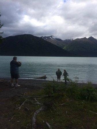 Chugach State Park: beautiful lake