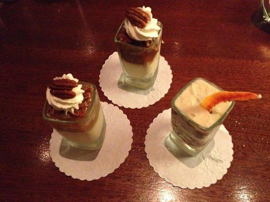 Seasons 52: Mini desserts