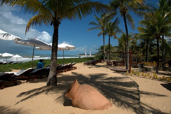 Villas de Trancoso Hotel: The beach