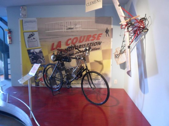 l'Épopée de la Moto: Wonderful exhibit