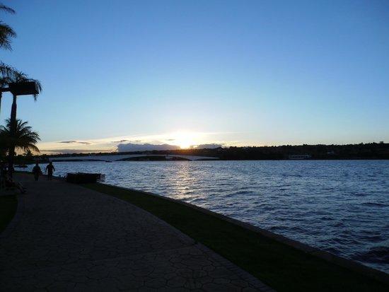 Pontão do Lago Sul: Por do Sol