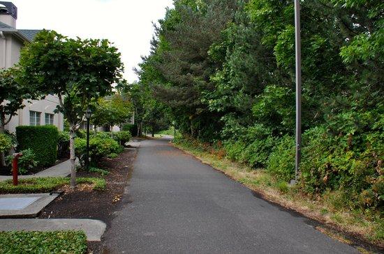 Homewood Suites Seattle - Tacoma Airport / Tukwila: Nice walking trail