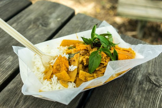 Ithaca Farmers Market: another curry rice