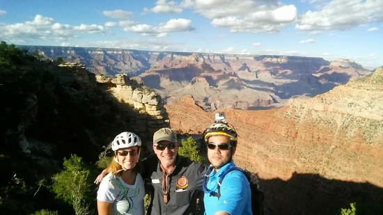 Bright Angel Bike Rentals and Tours: Picture with Erik (our guide)