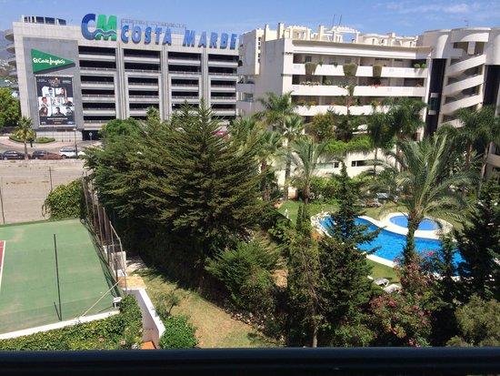 PYR Marbella Hotel: Vistas hab 533