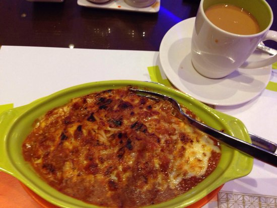 Sheraton Grand Macao Hotel, Cotai Central: Overrated: Baked pasta at 24h Tastes Cafe