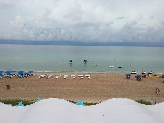 Trump International Beach Resort: Vista da piscina/praia