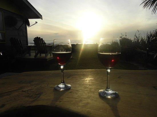 Punakaiki Beach Hostel : View from Sunset Cottage