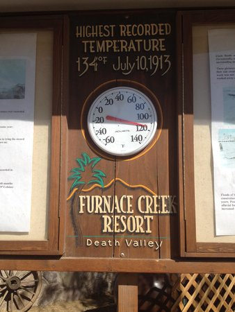 Furnace Creek Inn and Ranch Resort : Death Valley