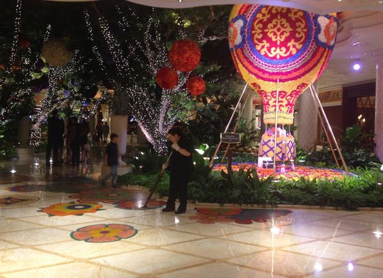 Wynn Las Vegas Casino : Jardins do Wynn