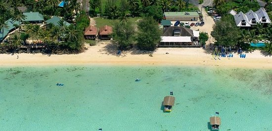 Muri Shores Aerial - wider view
