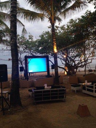 Segara Village Hotel: Movie night