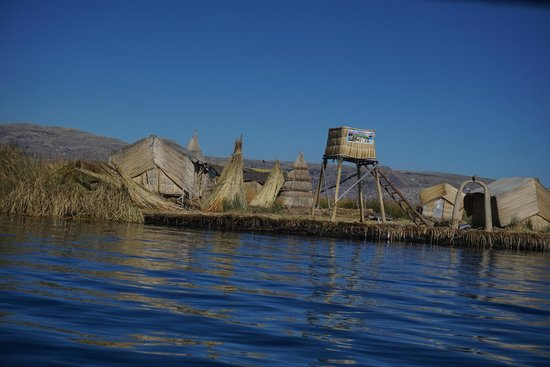 Ilhas de Uros: The island we visted