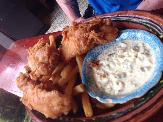 Joe Jack's Fish Shack : fish and chips