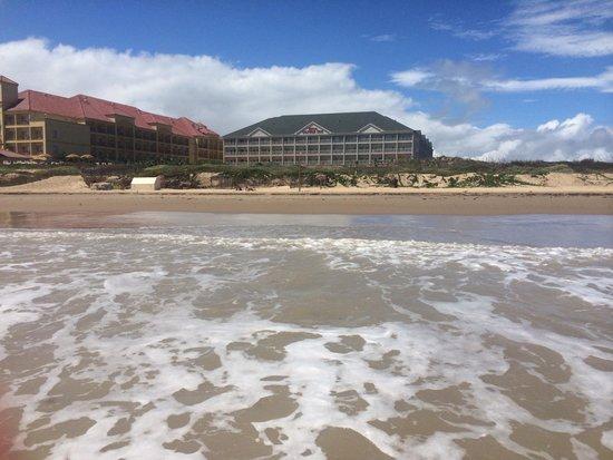 Hilton Garden Inn South Padre Island: Hotel from the beach!