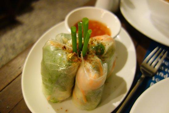 Haven: Veggie rolls