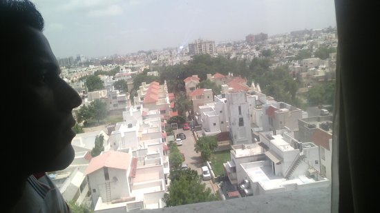 Cambay Grand Ahmedabad : view from # 604