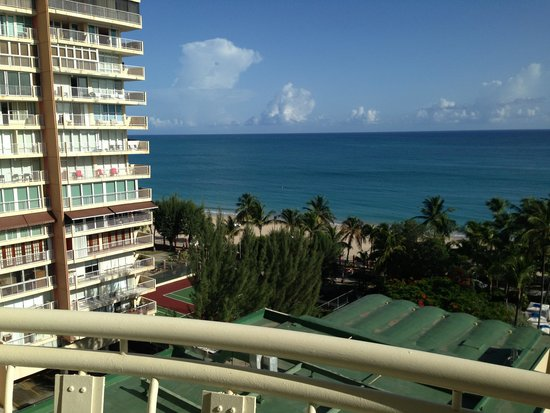 InterContinental San Juan: view from room on 10th