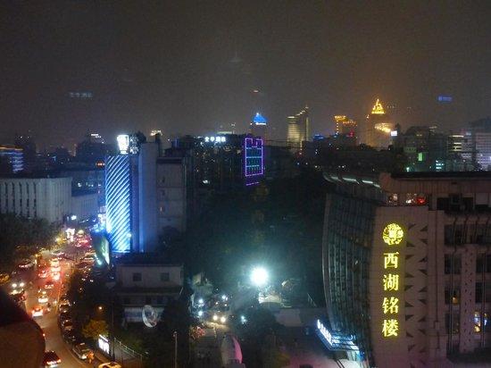 Haihua Hotel Hangzhou : Hangzhou at night