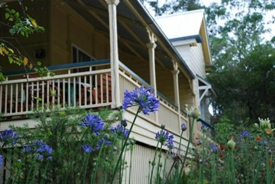Mt Barney Lodge Country Retreat: Moringararah Homestead front veranda