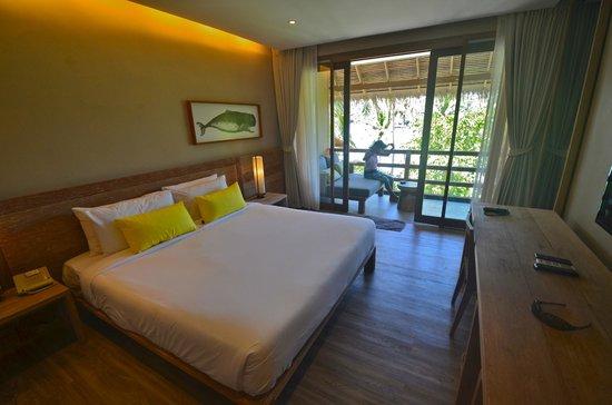 The Haad Tien Beach Resort: Unser wunderbares Zimmer im Beach-Club