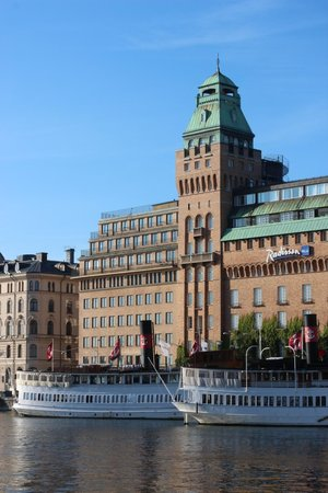 Radisson Blu Strand Hotel, Stockholm: View from the northwest