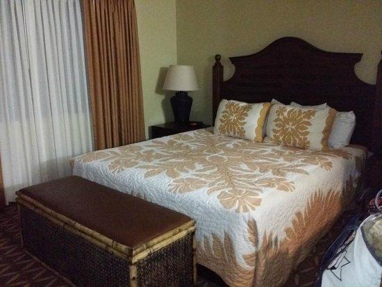 Wyndham Kona Hawaiian Resort: master bedroom