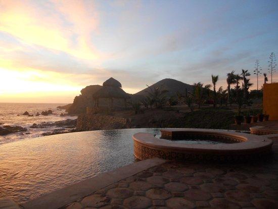 Hacienda Cerritos Boutique Hotel : sunset