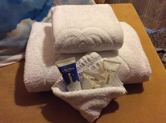 Sofitel Brussels Le Louise : Additional items given for our baby
