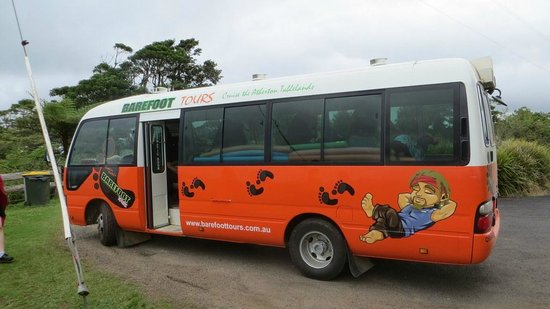 The Barefoot Tours bus