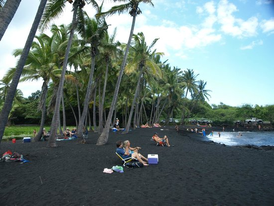 Castle Hilo Hawaiian Hotel: Punaluu Beach