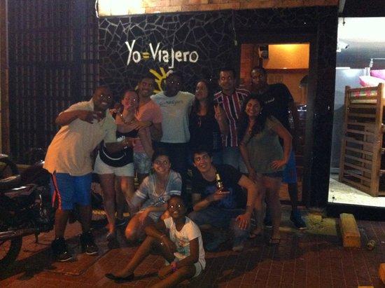 El Viajero San Andres Hostel & Suites: Entrada del Hostal El Viajero San Andres