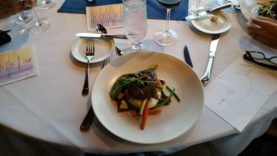 Ondine : Generous portion of sea bass, served as another choice for dinnner