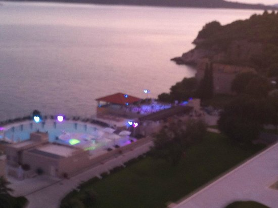 Radisson Blu Resort & Spa at Dubrovnik Sun Gardens : Sunset