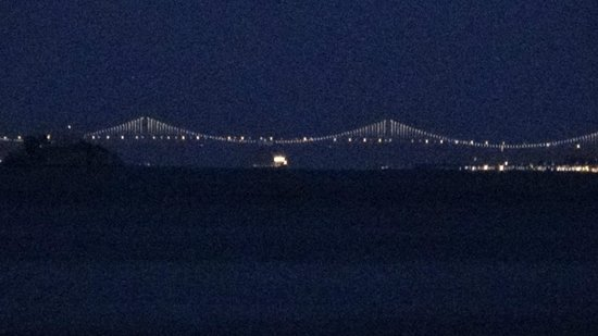Ondine: The charming Golden Gate Bridge as seen from the Terrace at
