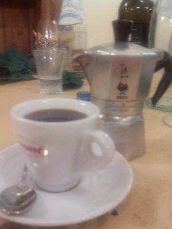Osteria del Borgo: Il vero caffè