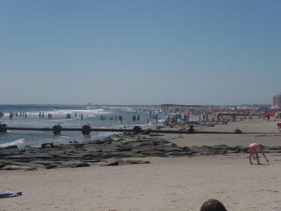 Ocean City Beach: Overview of the beach