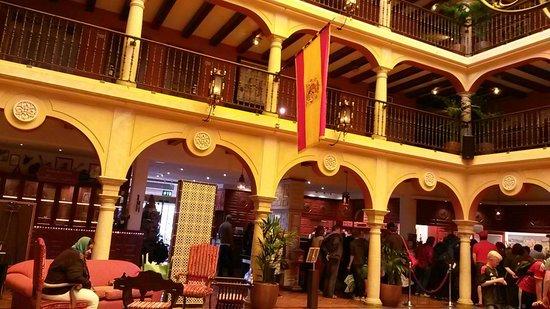 Hôtel El Andaluz : Entée de l hotel