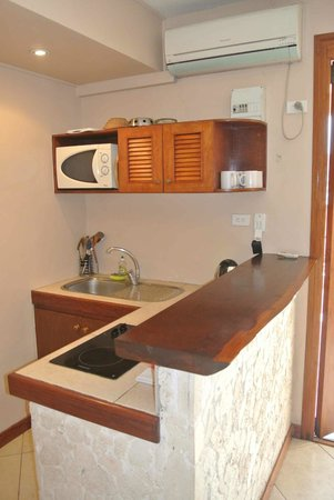 Fatumaru Lodge: Seaview appartment - Kitchenette
