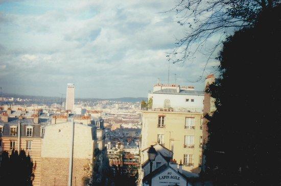 Montmartre: A shot of Lapin Agile