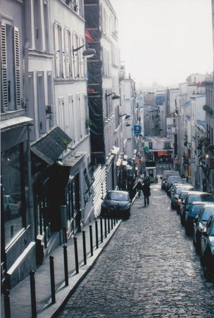 Montmartre: Getting up to the highest point