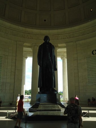 Jefferson Memorial: The leader and his message.