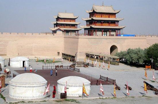 Jiayuguan Fortress : forteresse de Jiayuguan