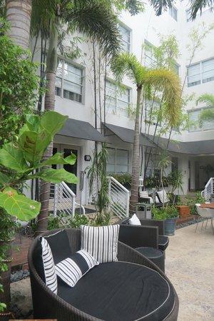 Metropole Apartments: Patio